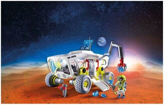 Playmobil 9489 Space Mars Research Vehicle with Interchangeable Attachments