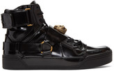 Gucci Black Tiger High-top Sneakers