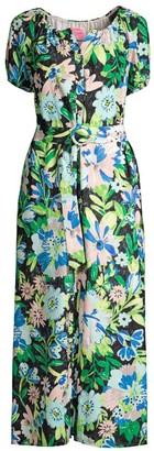 Full Bloom Voile Dress