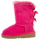 UGG Girls' Bailey Bow Suede Boots w/ Tags