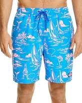 Vineyard Vines Island Scenic Bungalow Swim Trunks