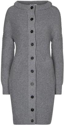 Alexander McQueen Long wool cardigan