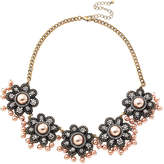 Natasha Accessories Womens Clear Collar Necklace