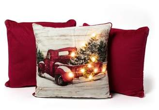 Sure Fit Vintage Truck Light up Throw Pillow