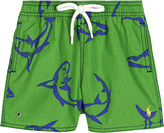 Ralph Lauren Captiva cotton swim shorts 6-24 months