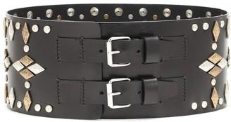 Isabel Marant Calvin embellished leather belt