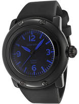Glam Rock Women's GW25057 - Black Silicone/Black Wrist Watches