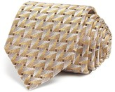 Lanvin Art Deco Skinny Tie