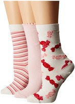 Kate Spade Gift Box Set Women's Crew Cut Socks Shoes