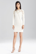 Josie Natori Double Knit Jersey Cut Out Dress