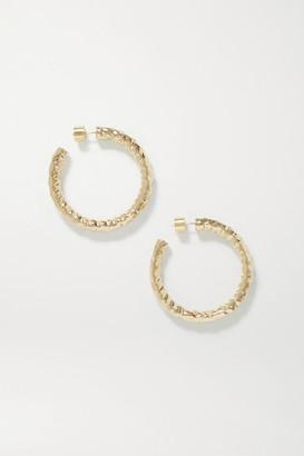Jennifer Fisher Baby Petite Maeve Gold-plated Hoop Earrings