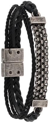 Saint Laurent Chain Link Detail Bracelet