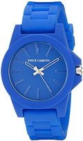 Vince Camuto Women's VC/5247CBCB Stainless Steel Watch With Cobalt Blue Silicone Band