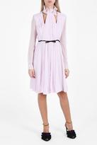 Giambattista Valli Pleated Belt Dress