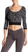 Electric Yoga Army Printed Cropped Tee