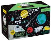 Chronicle Books Boy's Outer Space 100-Piece Glow-In-The-Dark Puzzle