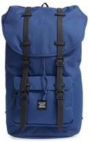 Herschel Men's 'Little America' Backpack - Blue/green