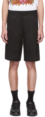 Neil Barrett Black Basketball Shorts