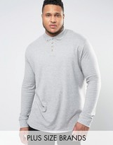 Duke Plus Polo With Long Sleeves In Grey
