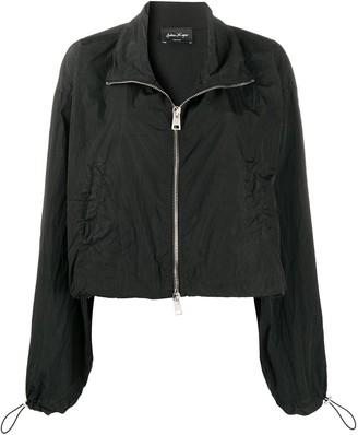 Andrea Ya'aqov Flared Cropped Jacket