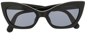 Chanel Pre Owned CC cat-eye sunglasses