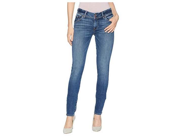 Hudson Collin Supermodel Mid-Rise Skinny Jeans in Maxson