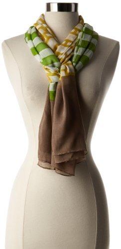 Jonathan Adler Women's Nixon Stripe Oversized Oblong Scarf