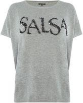 Salsa Mediterranean knitted tee
