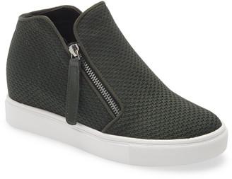 Steve Madden Click Hidden Wedge High Top Sneaker