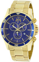 Jivago Mens Gold Tone Bracelet Watch-Jv6125