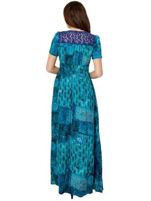 Joe Browns Funky Flattering Dress - Teal
