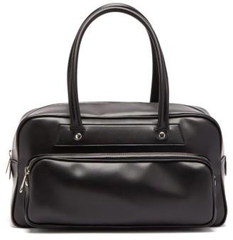 Comme des Garçons Comme des Garçons Faux-leather Bowling Bag - Black
