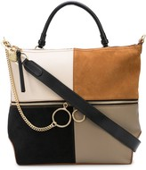 See by Chloe patch-work zipped tote