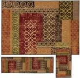 StyleHaven Treble Stamped Lattice 3-pc. Rug Set