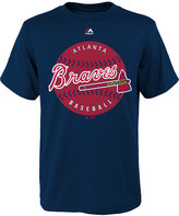 Majestic Boys' Atlanta Braves Electric Ball T-Shirt
