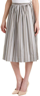 Thomas Pink Midi Skirt