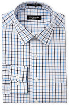 Pierre Cardin Navy & Blue Check Slim Fit Dress Shirt