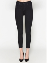 L'Agence Claudine High Rise Skinny In Noir