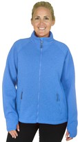 Champion Plus Size Sherpa-Lined Fleece Jacket