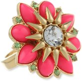 "Juicy Couture Malibu Girl"" Cabachon Flower Adjustable Ring"