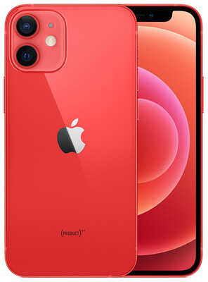 Apple iPhone 12 mini - 128GB Red - Sprint with installment plan)
