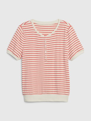 Gap Softspun Henley T-Shirt