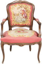 One Kings Lane Vintage 1940s Louis XVI-Style Fauteuil