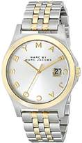 Marc by Marc Jacobs Women's MBM3319 Two-Tone Stainless Steel Watch Bracelet Watch