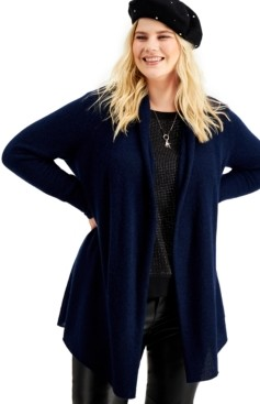 Charter Club Cashmere Completer Sweater, Created for Macy's