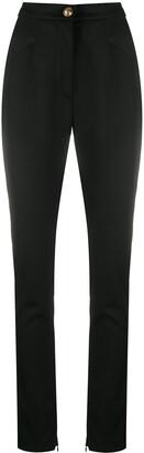 Balmain High-Waisted Skinny Fit Trousers