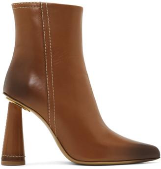 Jacquemus Tan Les Bottes Toula Boots