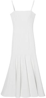 Carolina Herrera Sleeveless Drop Waist Midi Dress