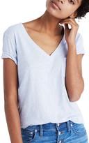 Madewell Women's 'Whisper' Cotton V-Neck Pocket Tee