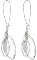 Robert Lee Morris Shell Shepherd Hook Drop Earrings